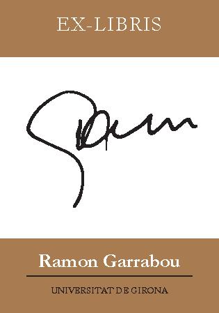 Fons Ramon Garrabou EX-LIBRIS